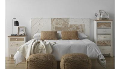 Cabeceros en todas las medidas tapizados en tela, piel, madera de estilo nórdico, industrial, moderno a un precio muy económico