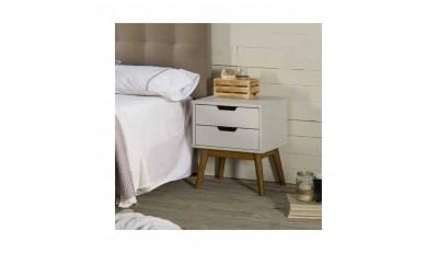 Mesitas de noche en madera, metal, con patas y en varios estilos al precio más economico