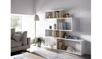 Estanterías industriales, nórdicas, de diseño,  para salón y habitación juvenil.