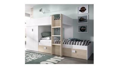 Literas para espacios reducidos en forma de tren o vertical para espacios reducidos a un precio muy economico