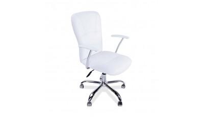 Sillas de oficina o estudio con brazos, regulable en altura, reclinables con ruedas en todos los colores