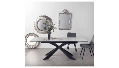 Mesas de comedor fijas, extensibles, redondas, cristal, marmolizadas y de porcelánico.