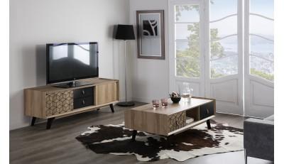 Muebles de televisión con patas, ruedas, suspendidos y en estilo industrial, nórdico, moderno, vintage y contemporáneo.