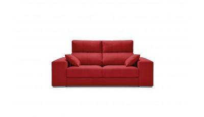Sofás de 2 plazas y tres plazas reclinables extraíbles estilo moderno nórdico cómodo económico