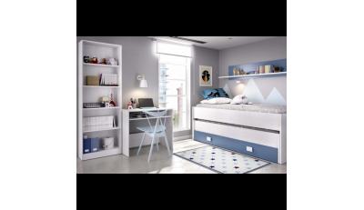 camas y cabeceros en madera, modernos, camas compacto, camas nido, literas, camas cabaña y originales para los más pequeños y espacios reducidos.